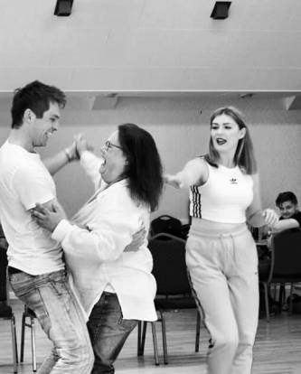 cast in rehearsals